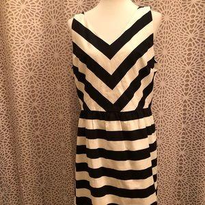 🆕NWT Ann Taylor LOFT Outlet Cute Striped Dress